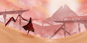Journey - The Wastes by TacoSauceNinja