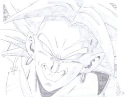 Broly's Evil Smile by nwobutme