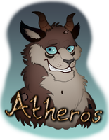 Felixcani Atheros badge trade by RainbowCrumbs