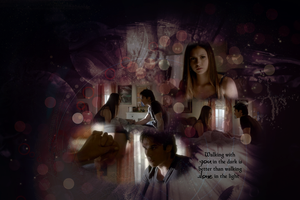 Delena Wallpaper - S4E6 by Vampiric-Time-Lord