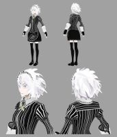 Wip - Sakuya Low Poly 2.0 by JvTheWanderer