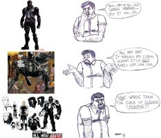 Gripes of Wrath: Agent Venom's Devolution by OrionSTARB0Y