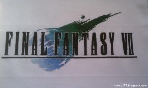 Final Fantasy VII Cross-Stitch - Complete by rosey175