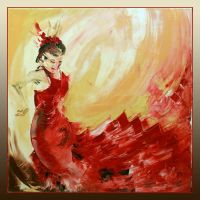 Flamenco Dancer by garfildus