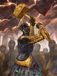 Golem for Magic the Gathering by fooyee