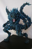 2 Tails Naruto by HectorArceSculpture