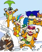 A Koopa Winter Wonderland 2010 by wackko200