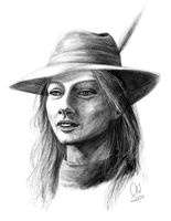 Soerl Lute Realistic Portrait by TheCatlady