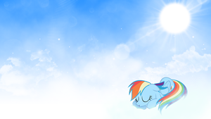 Rainbow Dash Background by Sarphog