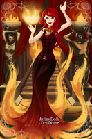 The Red Sorceress by SingerofIceandFire