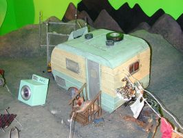 miniature trailer by TimBakerFX