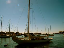 Sailboat- Falmouth Harbor by THEsimplePLEASURES