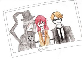 Undertaker, Grell, Ronald Request by PhantomhiveForever48