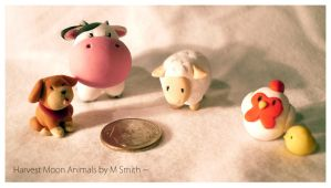 Harvest Moon Animals by TheDoomKat