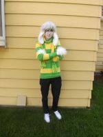 Asriel cosplay by boobleeboo