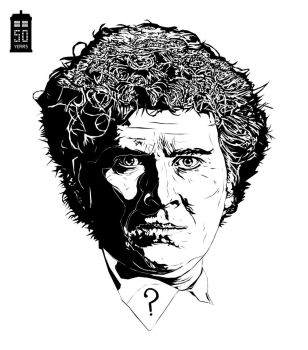 Doctor Who Colin Baker by bigdoo