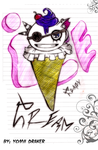 Ice Crazy Cream nya by Yomii-Draker
