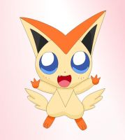 Victini by EternalNova