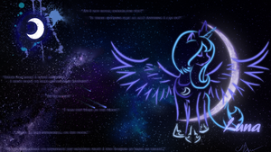 Princess Luna Wallpaper by Ayasin