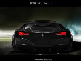 BMW Noire concept Rear by AS001