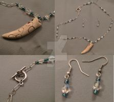 Tenel Ka Jewelry Set by jediprincess