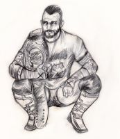 CM PUNK by ECTO87