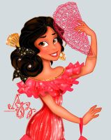 Disney Princess Elena of Avalor by Asher-Bee