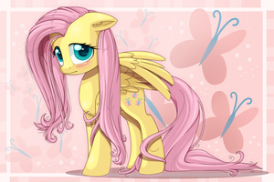 .. :: You Are Shy, Fluttershy :: .. by PauuhAnthoTheCat