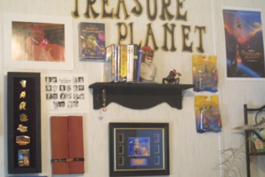 treasure planet wall by ebell1