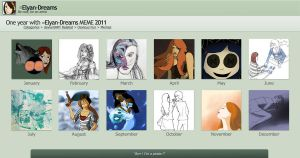 Summary of art 2011 by Elyan-Dreams