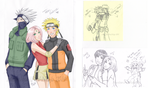 Team Kakashi + bonus doodles by Heartless-iPod-Ninja