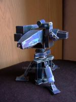 ISA Sentry Turret Papercraft by 14th-division