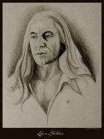 Lucius Malfoy in Shirtsleeves by Ellygator
