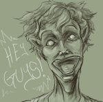 James says Hi- Sketch by Horace-Bulregard