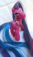 My little pony custom Malia by AmbarJulieta