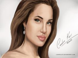 Angelina Jolie by cahrolzit