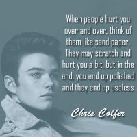 Chris Colfer Quote by Kurtfan