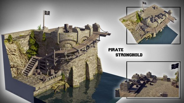 Pirate Stronghold by Wissemann