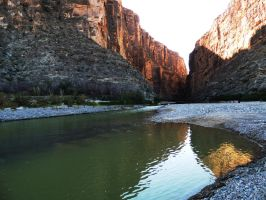 The River and Big Bend by SharPhotography