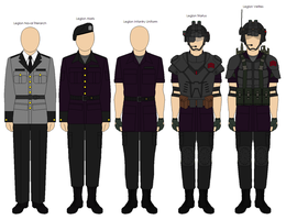 Legion Imperialis Uniforms by TheKorpsOfKrieg