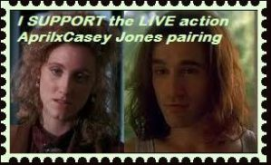I support the LIVE action Casey JonesXApril by Moonstone27