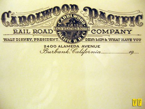 Carolwood Pacific Letterhead by unknowninspiration