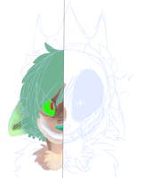 two sides WIP by annaza0000