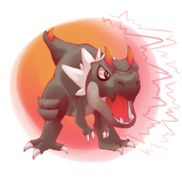TYRUNT used Roar by Sylexii
