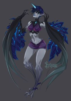 Anivia Inspired Commission [Based on Design] by Arkuny