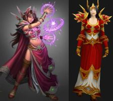 Wow Mage by josy-style