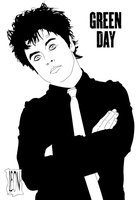 Billy Joe Armstrong by DarkFurianX
