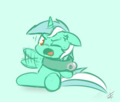 Poor Lyra by CradeElcin
