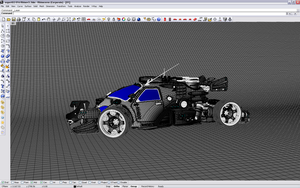 turboHybrid 02.04 wireframe by popoff