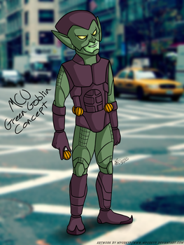 MCU Green Goblin - Concept by mporkyp